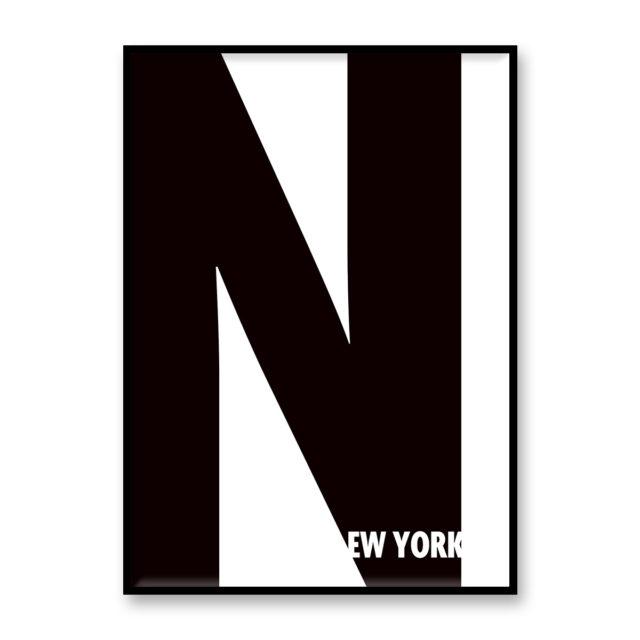 ポスター NEW YORK - N